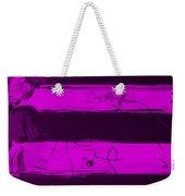The Max Face In Purple Weekender Tote Bag
