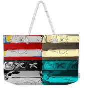 The Max Face In Quad Colors Weekender Tote Bag