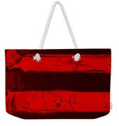The Max Face In Red Weekender Tote Bag