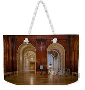 The Mcgraw Rotunda At The New York Public Library Weekender Tote Bag