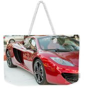 The Mclaren Apple Red Collection  Weekender Tote Bag