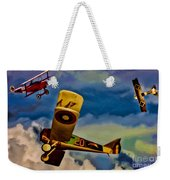 The Mean French Skies Weekender Tote Bag