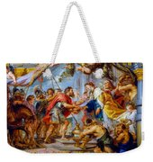 The Meeting Of Abraham And Melchizedek Weekender Tote Bag