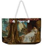 The Meeting Of Antony And Cleopatra  41 Bc Weekender Tote Bag