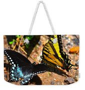 The Meeting Of The Butterflies Weekender Tote Bag