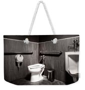 The Mens Room Weekender Tote Bag by Bob Orsillo