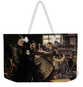 The Menshikov Family In Beriozovo, 1883 Oil On Canvas Weekender Tote Bag