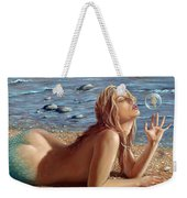 The Mermaids Friend Weekender Tote Bag