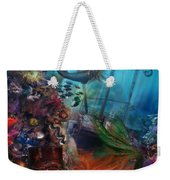 The Mermaids Treasure Weekender Tote Bag