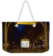 The Metropolitain #2 Weekender Tote Bag