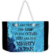 The Mighty Celtic Ocean Weekender Tote Bag