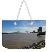 The Mighty Mississippi Weekender Tote Bag