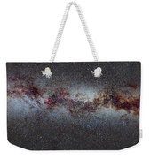 The Milky Way From Scorpio And Antares To Perseus Weekender Tote Bag by Guido Montanes Castillo