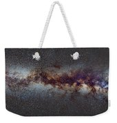 The Milky Way From Scorpio Antares And Sagitarius To North America Nebula In Cygnus Weekender Tote Bag