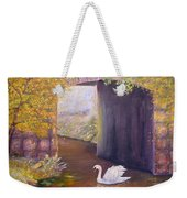 The Mill Swan Weekender Tote Bag