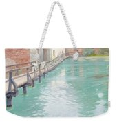 The Mills At Montreuil Sur Mer Normandy Weekender Tote Bag by Fritz Thaulow
