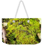 The Miniature World Of The Moss Weekender Tote Bag