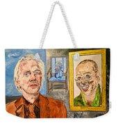 The Mirrored Truth Weekender Tote Bag by Valerie Ornstein