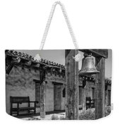 The Mission Bell B/w Weekender Tote Bag