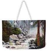 The Mist At Bridalveil Falls Weekender Tote Bag