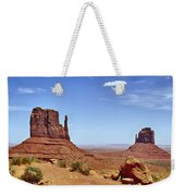 The Mittens Monument Valley Weekender Tote Bag