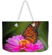 The Monarch's Flower Weekender Tote Bag