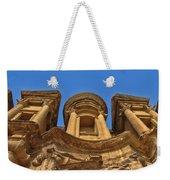 The Monastery In Petra Weekender Tote Bag