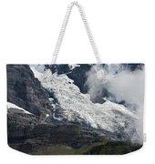 The Monk - Swiss Bernese Alps Weekender Tote Bag