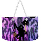 The Monkey Found The Lost Face Weekender Tote Bag