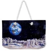 The Moon Rocks Weekender Tote Bag by Jack Skinner