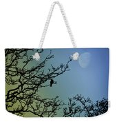 The Morning Moon Weekender Tote Bag