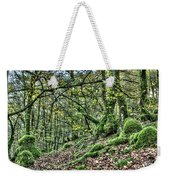 The Mossy Creatures Of The  Old Beech Forest 5 Weekender Tote Bag