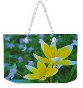The Most Beautiful Flowers Weekender Tote Bag