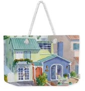 The Most Colorful Home In Belmont Shore Weekender Tote Bag