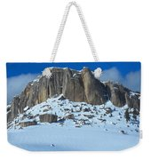 The Mountain Citadel Weekender Tote Bag