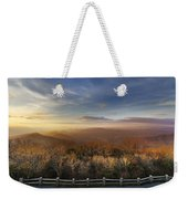 The Mountains Of Brasstown Bald Weekender Tote Bag