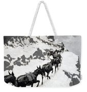 The Mule Pack Weekender Tote Bag