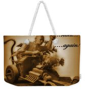 The Mummy Rides In Halifax Weekender Tote Bag