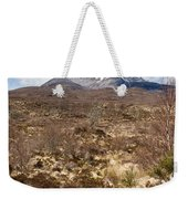 The Munro Of Sgurr Nan Fhir Duibhe Weekender Tote Bag