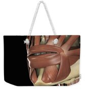 The Muscles Of The Mouth Weekender Tote Bag