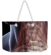 The Muscles Of The Neck Weekender Tote Bag