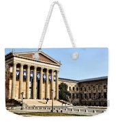 The Museum Of Art In Philadelphia Weekender Tote Bag