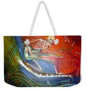 The Music Must Go On Weekender Tote Bag