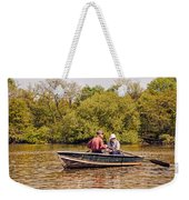 The Music Never Ends - Central Park Pond - Nyc Weekender Tote Bag