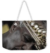 The Musicians Humble Bow To Applause  Weekender Tote Bag