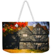 The Mysterious Witch House Of Salem Weekender Tote Bag