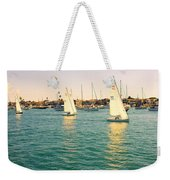 The Mystery Of Sailing Weekender Tote Bag