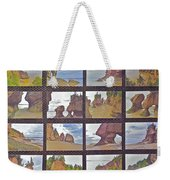 The Mystery Of Tides Photo Assemblage Weekender Tote Bag