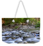 The Narrows A Place To Pause Weekender Tote Bag