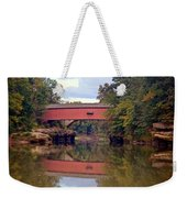 The Narrows Covered Bridge 4 Weekender Tote Bag